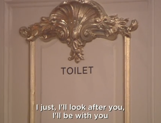 Celebrity Big Brother Jasmine Lee Toilet