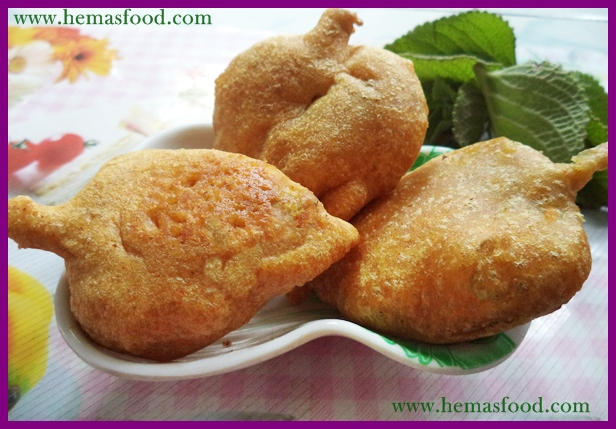 Carom Leaf Fritters