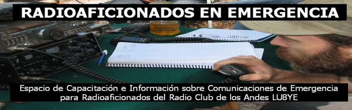 Radioaficionados en Emergencia