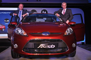 new ford fiesta automatic