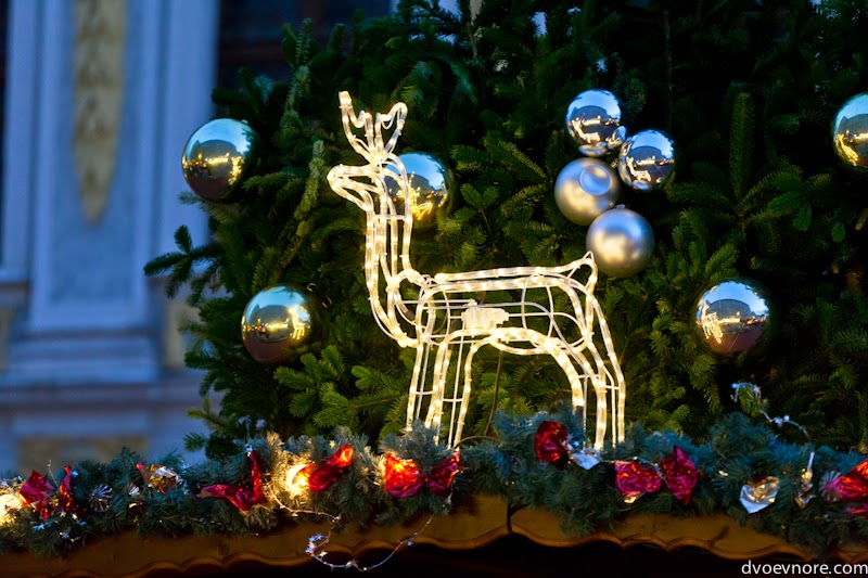 Украшения к Рождеству. Christmas decoration in Leipzig, Germany