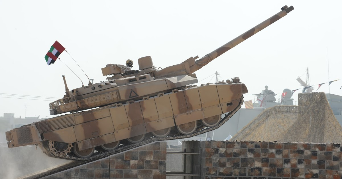 Leclerc main battle tank of army forces of united arab emirates global military review - Army tank pictures ...