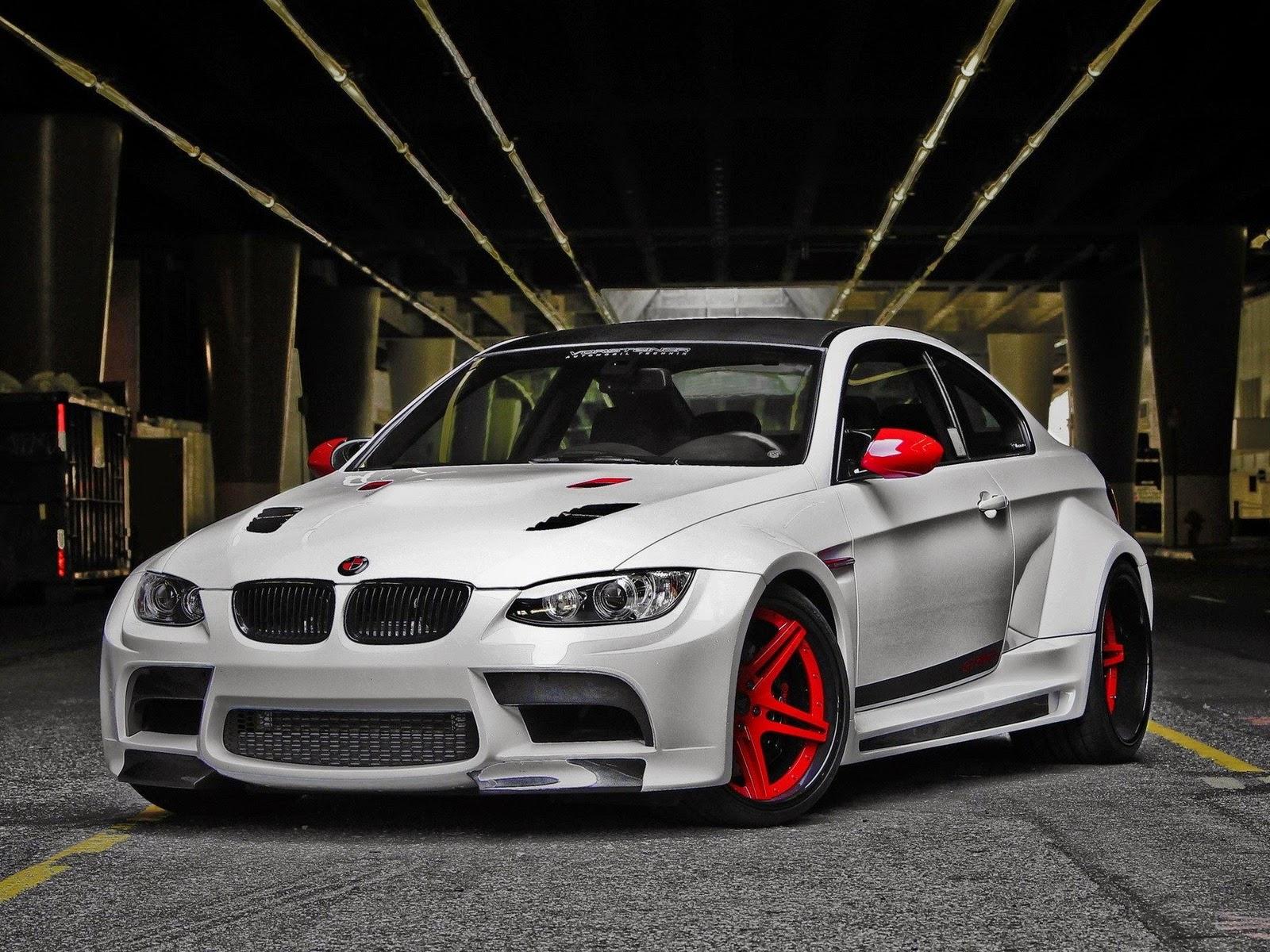 Gambar Modifikasi Mobil BMW White