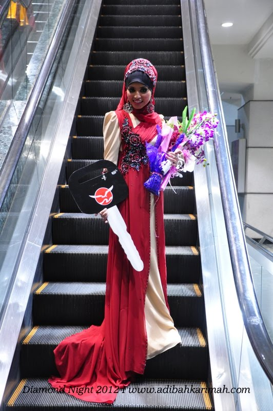 Diamond Night Dinner Award at MIECC for premium beautiful top agents single post on escalator