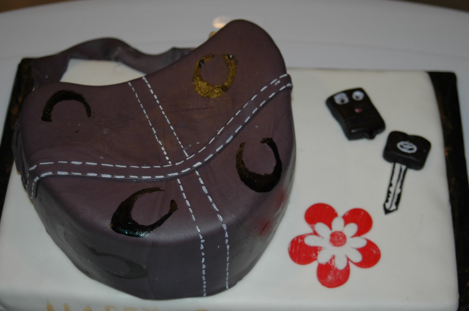 Roxys Sweets Coach Purse Birthday Cake