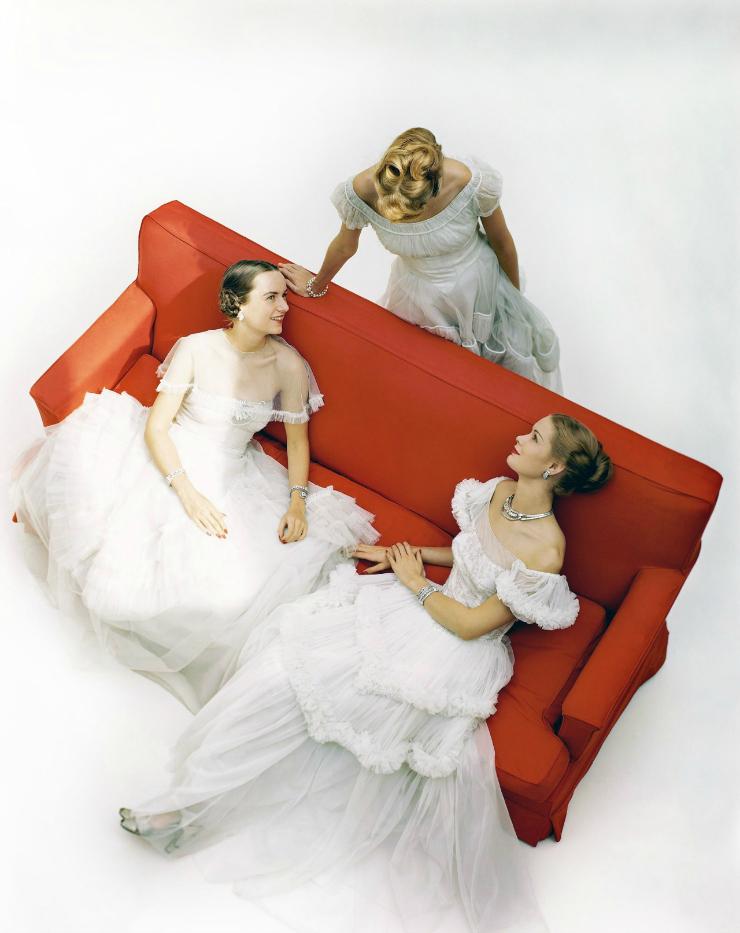 vintage vogue, brides