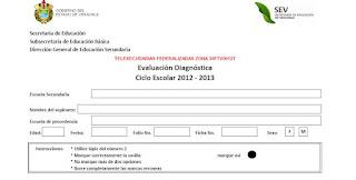 EVALUACIÓN DIAGNÓSTICA (CICLO LECTIVO 2012-2013)