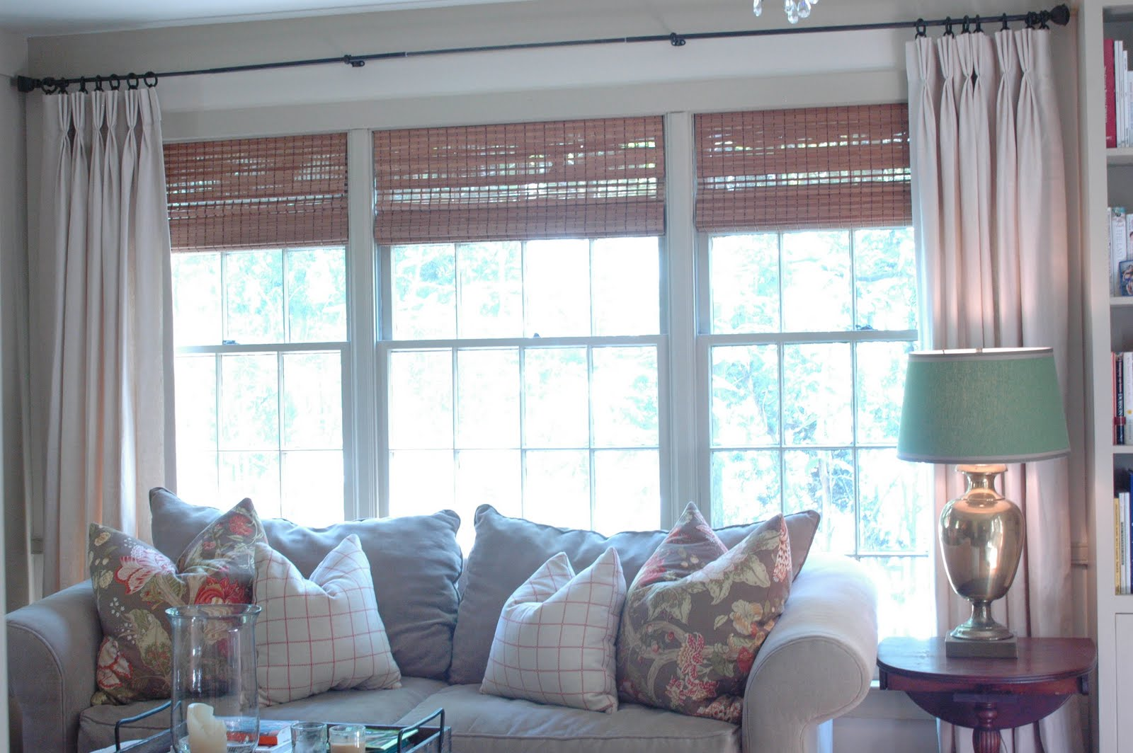 NINE + SIXTEEN: Window Treatments, Take Two....