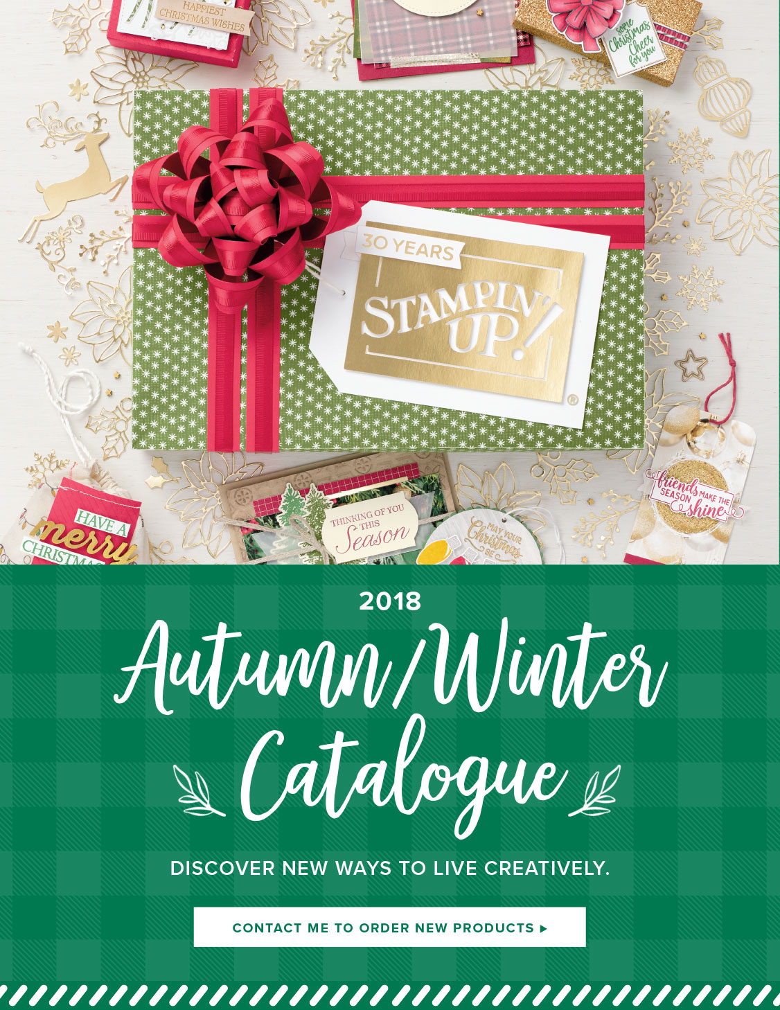 Stampin' Up! 2018 Autumn / Winter Catalogue