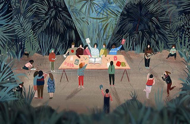 Ilustración de Miren Asiain Lora