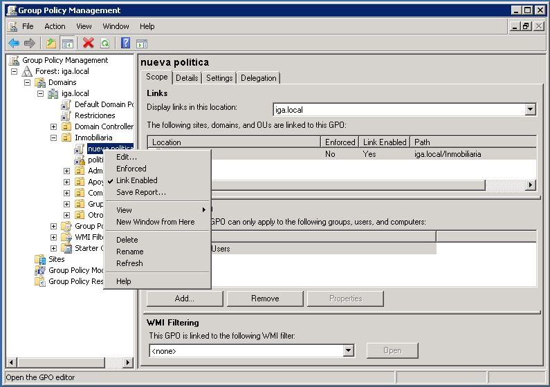 Soluciones TIC IGA: establecer fondo de pantalla mediante políticas ...