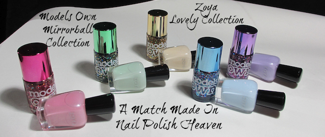 Models Own Mirrorball Zoya Lovely
