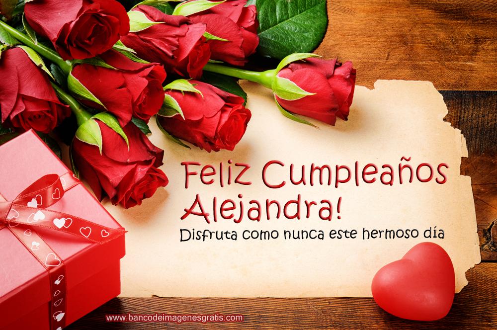 30 tarjetas de cumpleaños con rosas rojas, mensajes y nombres de