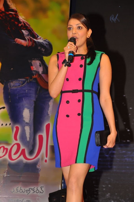 kajal at endukatne premanta audio launch hot photoshoot