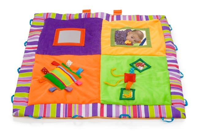 Peque a compa ia juguetes didacticos manta payaso - Alfombras de bebe lavables ...
