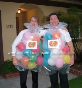 bag of jelly beans - Group Diy Halloween Costumes