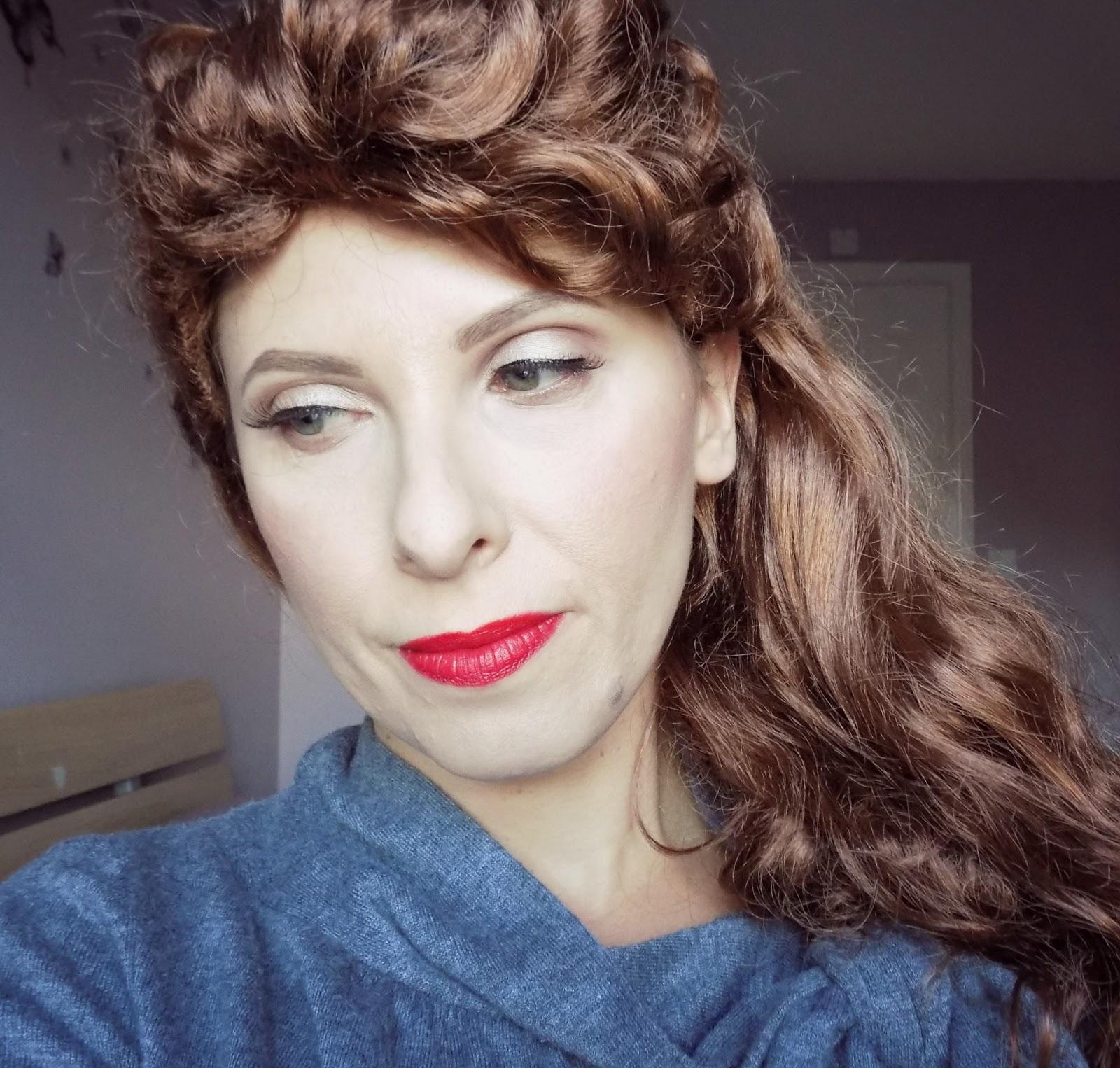 1940s makeup look