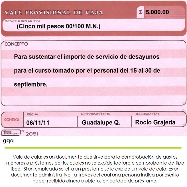 Luupiita!:): Vale de provisional de caja