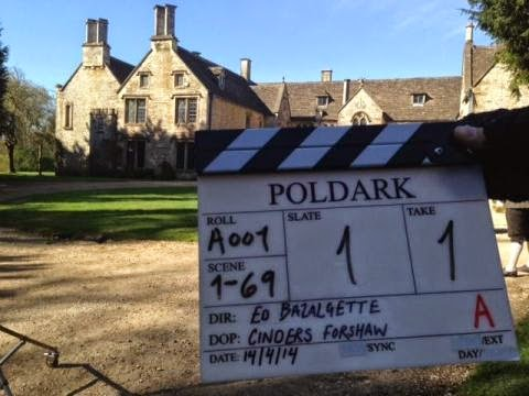 Chavenage House In Tetbury, Wiltshire, Is Used In The New BBC Drama Poldark  As Trenwith, The Poldark Family Home.