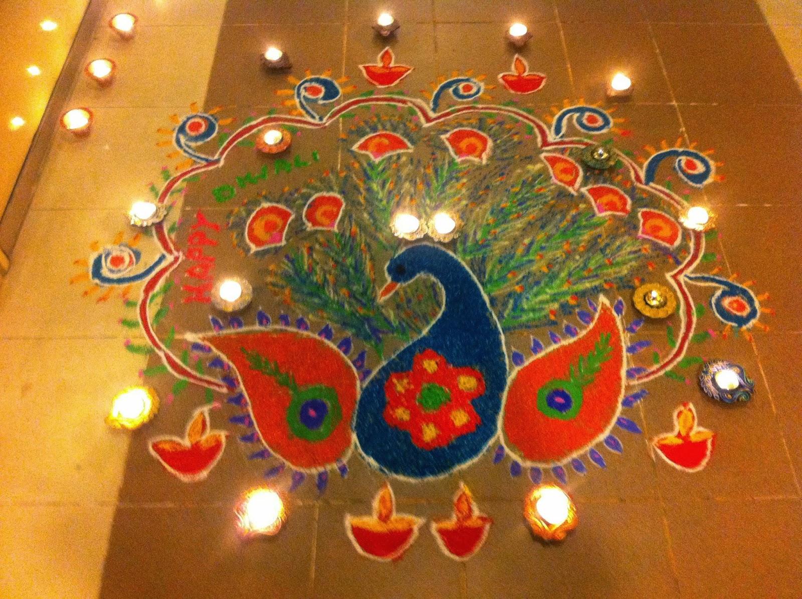 Beautiful HD Wallpapers 4 u Free Download: Diwali Rangoli HD Wallpaper ...