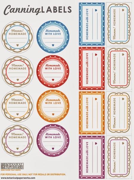 Etichette stampabili gratis free printable labels arte for Disegnare casa online gratis