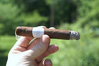 Blind Man's Puff Cigar Review Cubao No. 6 First Third