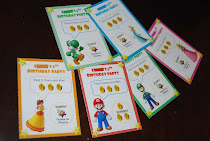 Super Mario Scratch Cards