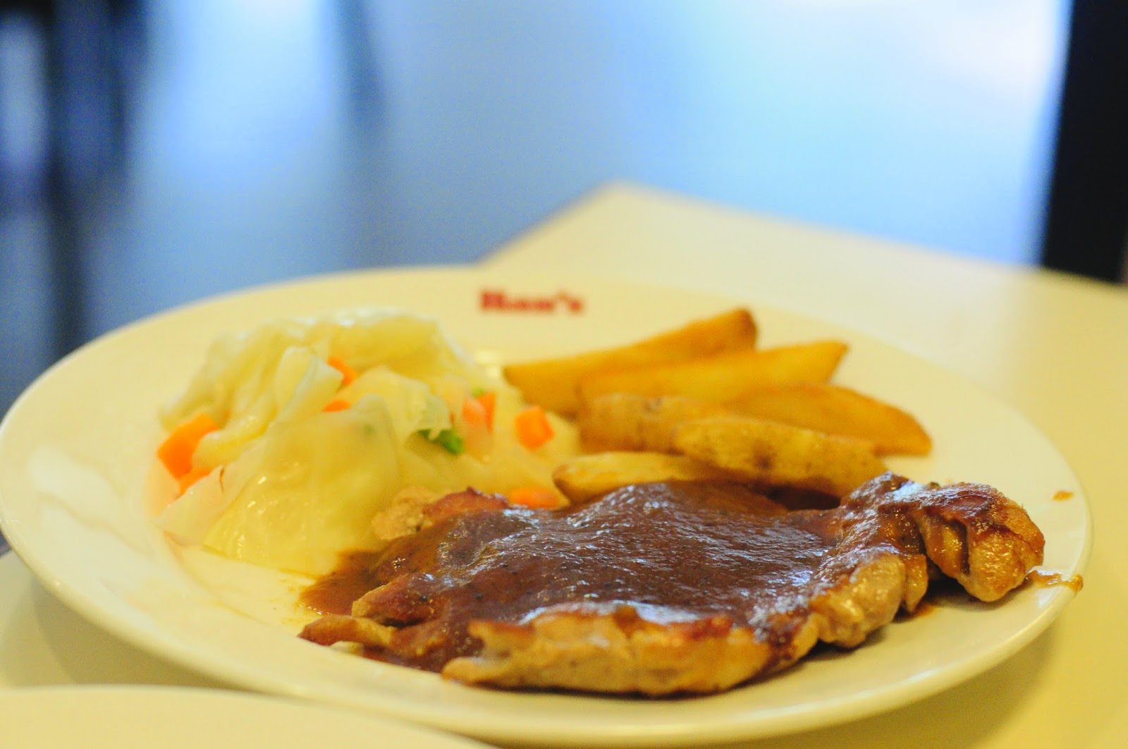 hans chicken chop set