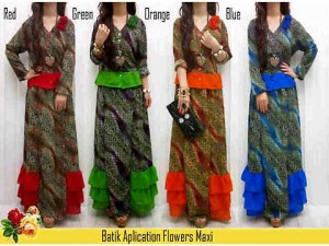 Tampil Cantik saat Lebaran dengan Setelan Dress Batik Modern