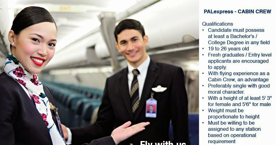 Fly gosh pal express cabin crew recruitment philippines for Korean air cabin crew requirements