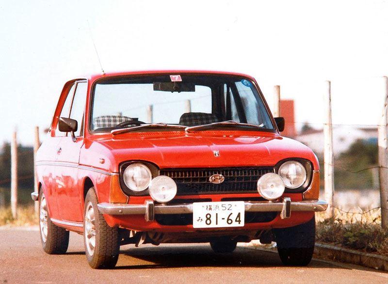 Subaru FF-1, dawne samochody, klasyczne auta, japońska motoryzacja, スバル