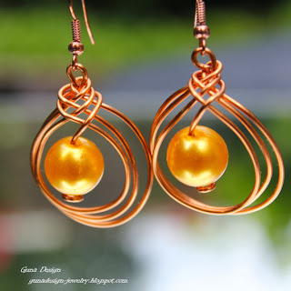 gunadesign Celtic knot earrings