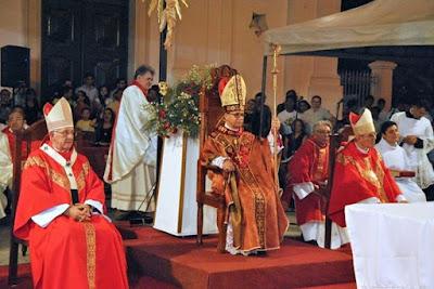 Novo Bispo da Diocese de Sobral Dom Vasconcelos, toma posse.