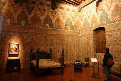 Sala dei Pavoni – Bedroom
