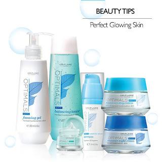 Daftar Member Oriflame Manado HANYA Rp 9.900 September 2015 - Optimals Whte Radiance Skin Set