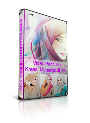 model jilbab, jilbab modern, kreasi jilbab, video hijab tutorial