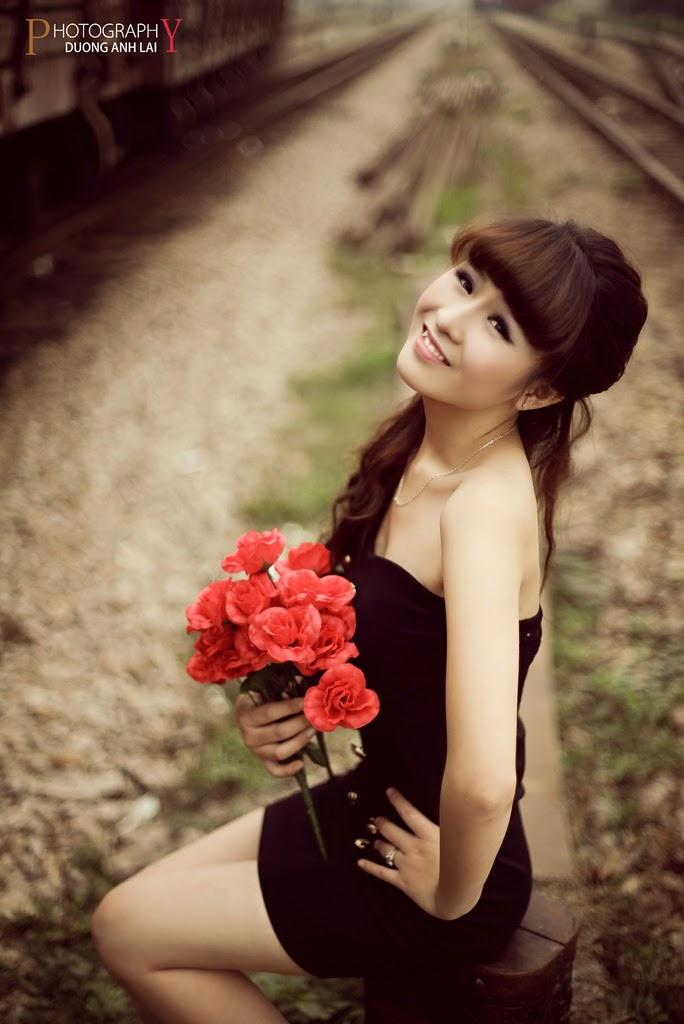 Ảnh đẹp girl xinh HD Việt Nam: Bóng hồng - Ảnh 14