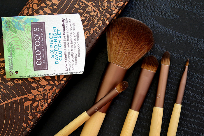Ecotools 6-Piece Day To Night Makeup Brush Clutch Set - Review-Photos-How to Use