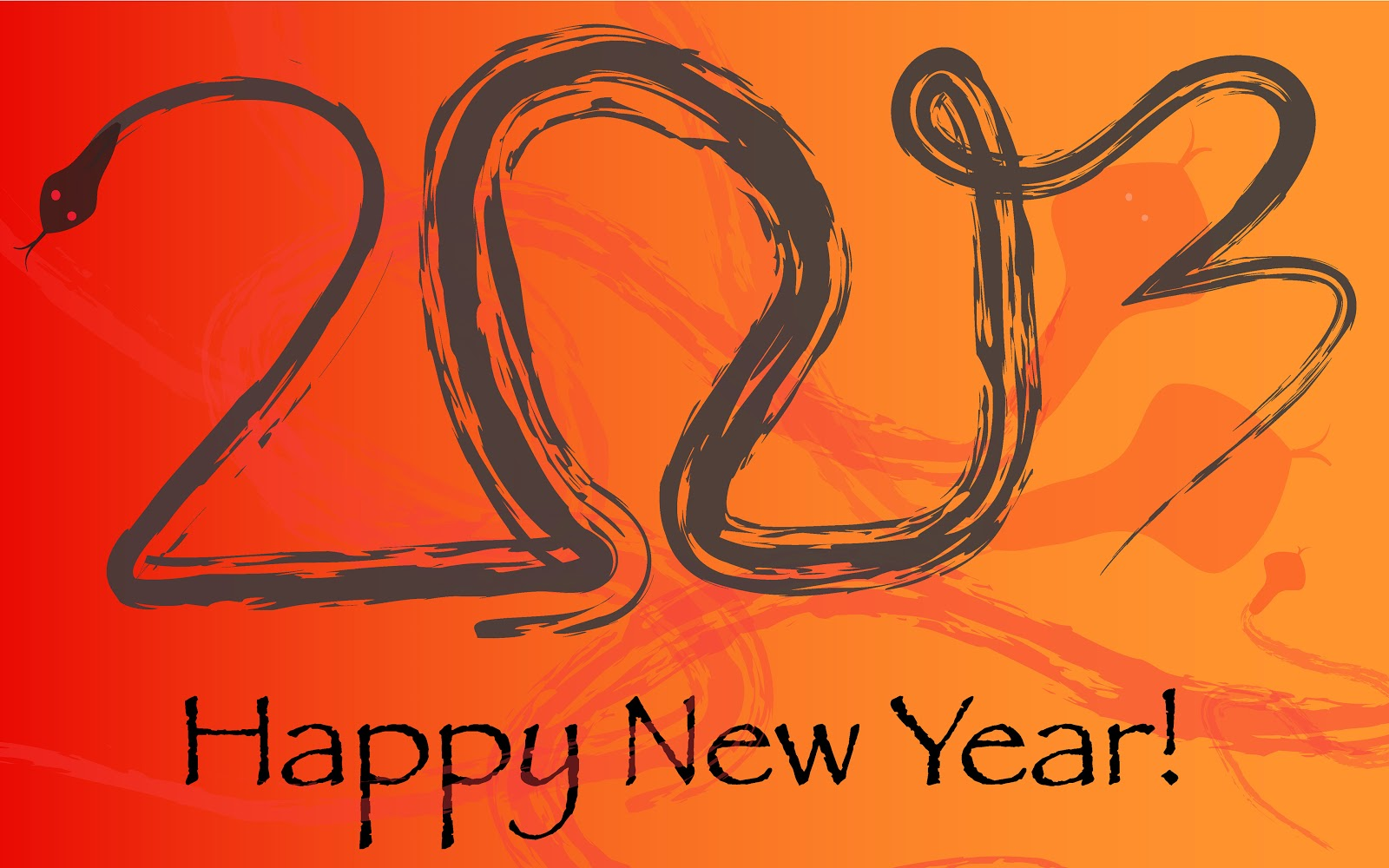 Happy New Year 2013 vector Wallpapers HD