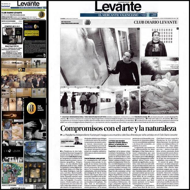 COMPROMISOS - ARTICULO  DEL LEVANTE