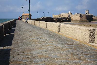 San Sebastian castle in Cádiz
