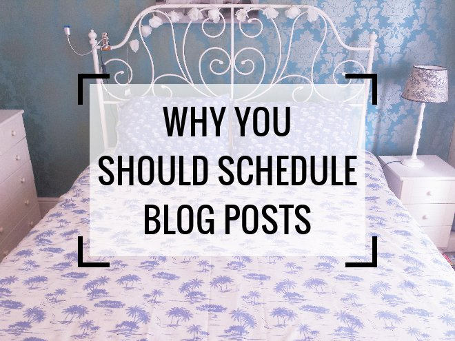 Why You Should Always Schedule Blog Posts