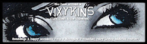 Vixykins Blog