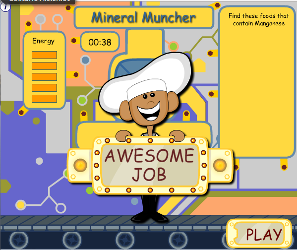 http://www.nourishinteractive.com/kids/flash/games/nutrient-machine/en/22-nutrient-machine-vitamins-minerals-game-children