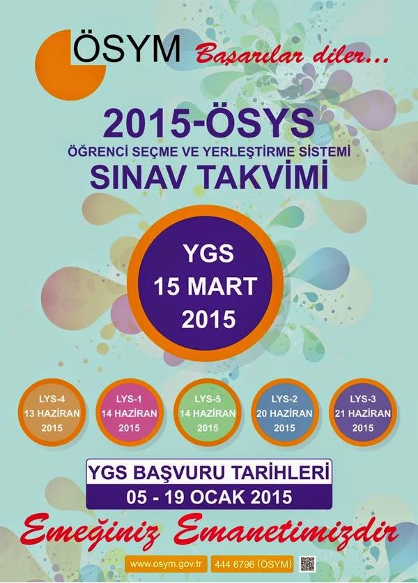 2015 YGS-LYS EL REHBERİ VE POSTERİ