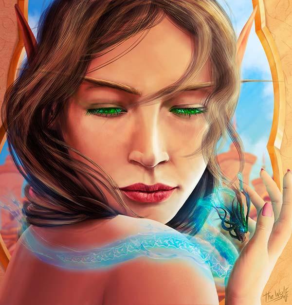 Ilustración, Fan Art de World of Warcraft de Cristian Pinto