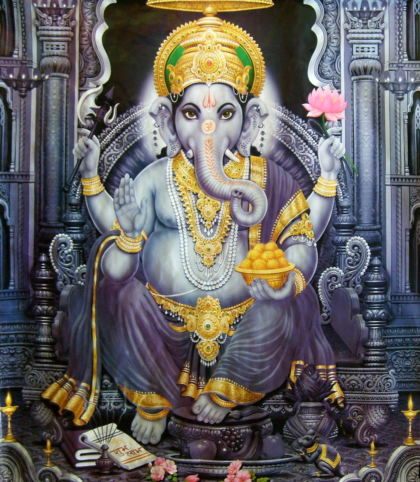 Shri Ganesh Hd Wallpaper: 25 Best Ganesha Wallpapers - Series 2
