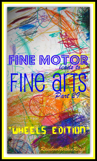 photo of: Fine Motor Leads to Fine Arts: The WHEELS Edition