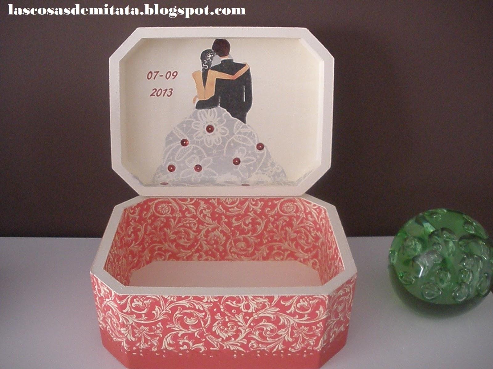 Cajas decoradas para bodas imagui - Cajas infantiles decoradas ...