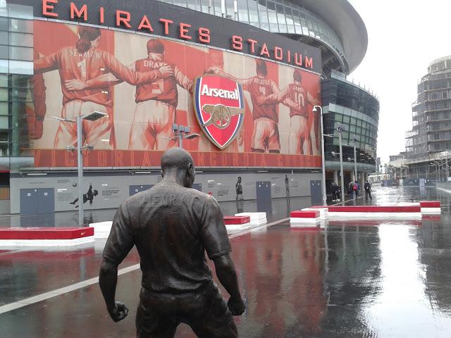 Emirates Stadium, Arsenal (Londres) Campo dónde juega el Arsenal de Arsenw Wenger, Özil y Cazorla.